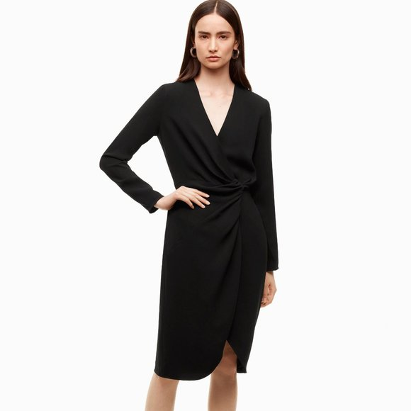NWT Aritzia Babaton Black Dress
